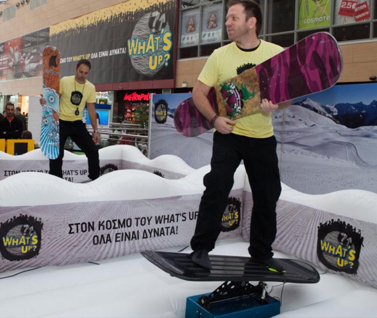 Snow/Surf board Simulator
