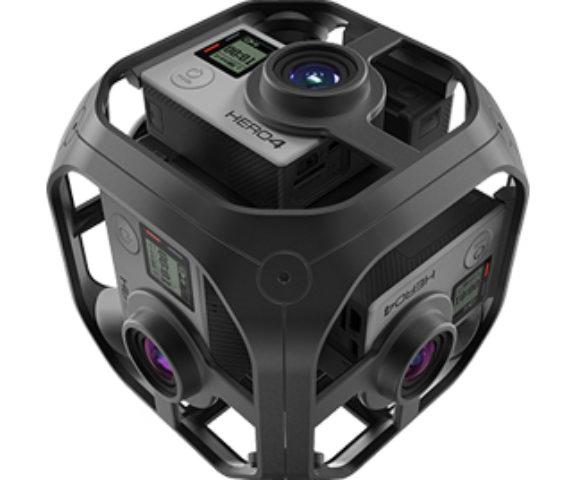 VR 360 Camera system