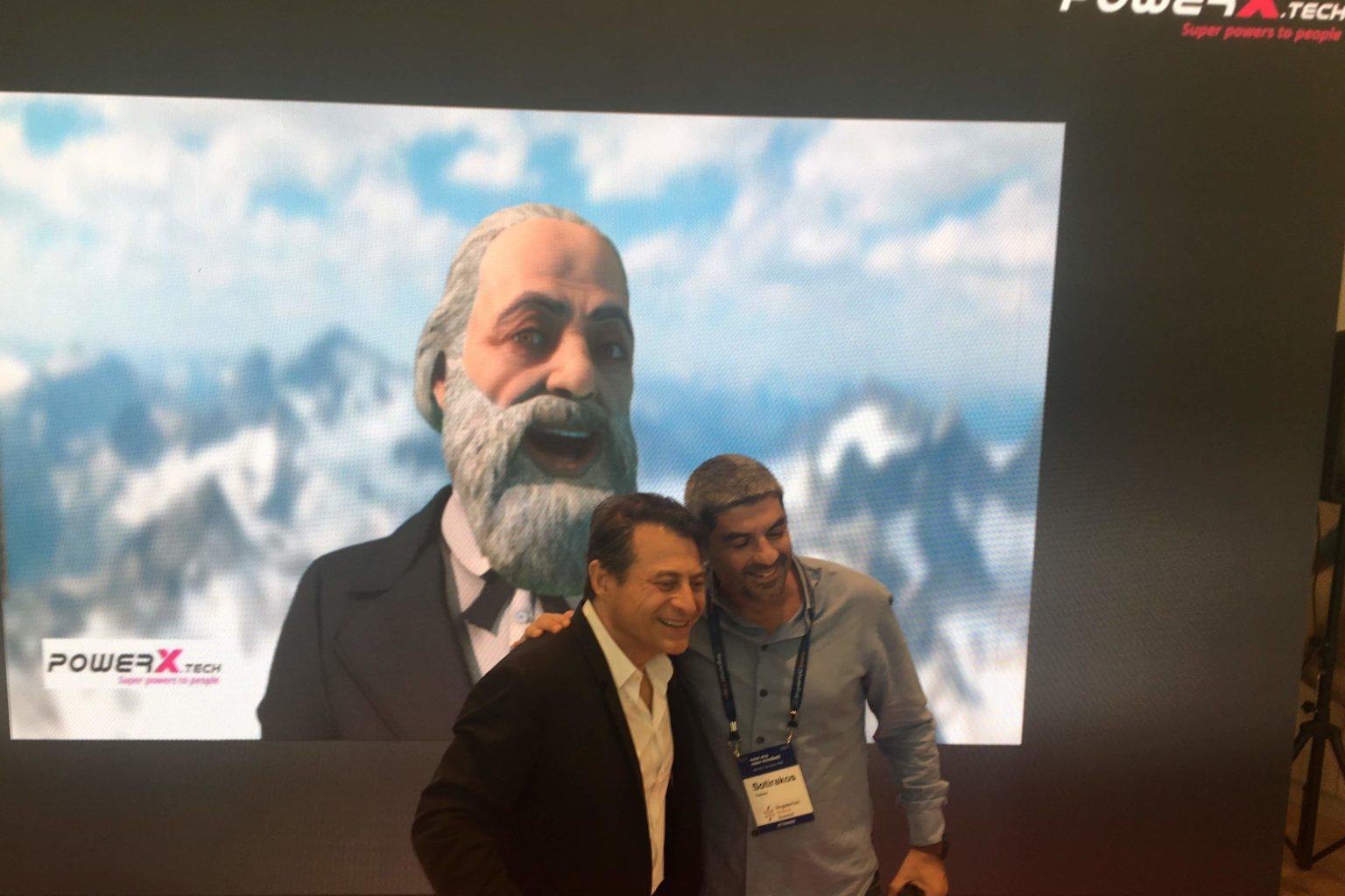 PowerX @SingularityU Greece Summit 2018